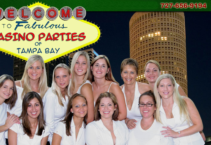 Casino Parties of Tampa Bay Crew